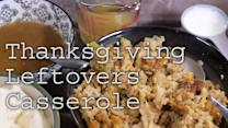 Delicious recipes: Thanksgiving leftovers casserole