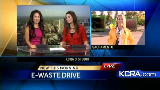 Get rid of old electronics safely at E-waste drive