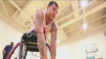 Wounded Marine from Delano goes to games