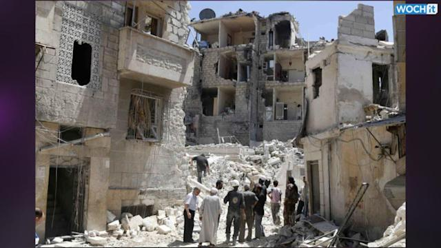 Activists: Death Toll In Syria's War Tops 160,000