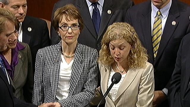 Gabrielle Giffords Resigns House Seat