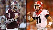 Johnny Manziel, Aaron Murray leading Heisman race