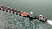 Texas oil spill: 60 boats trapped as barge leaks into busy channel