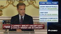 Pound down 1% on Carney's comments