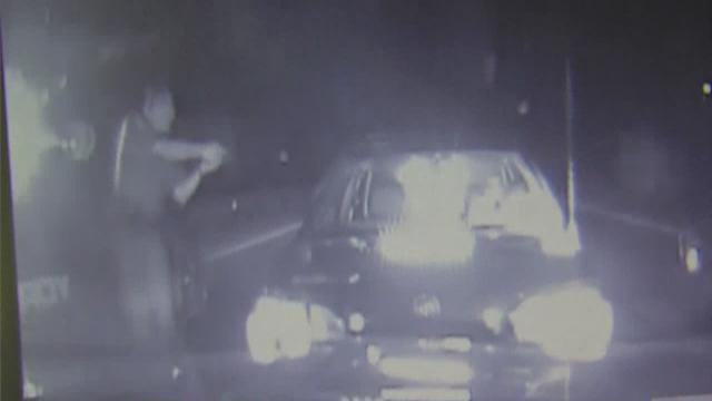 Police of drunk driving suspect caught on dash cam