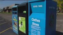Charitable bins disappear around metro Detroit