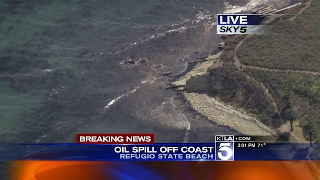 Oil Spill Off Refugio State Beach in Santa Barbara County Prompts Emergency Response