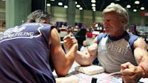 71 Year Old Arm Wrestler Explains How Why He's Still Winning""