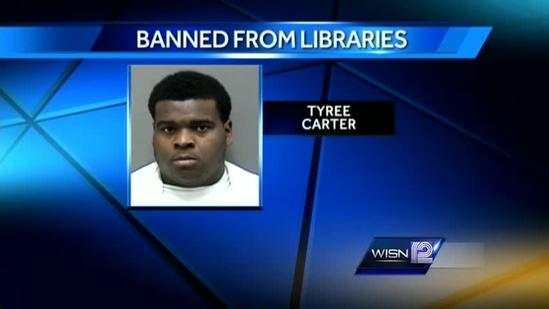 Man banned from 'all libraries on the face of the earth'