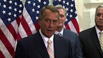 "John Boehner: ""We have no plans to impeach the president"""