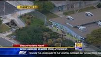 Student's threat prompts extra security at Pershing Middle