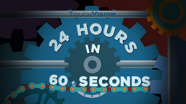 24 HOURS IN 60 SECONDS