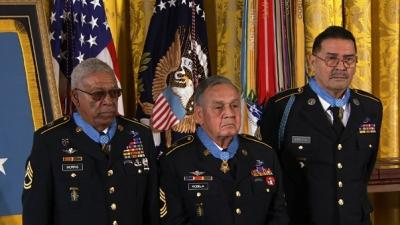 24 Vets Awarded 'long Overdue' Medal of Honor