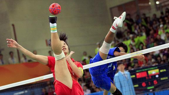 Kung Fu Volleyball!