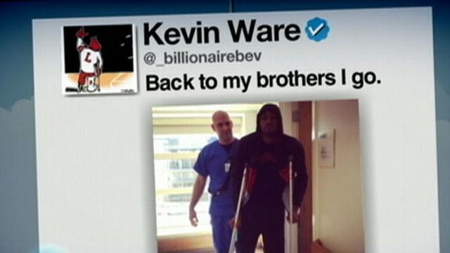 Instant Index: Kevin Ware Tweets on the Rebound
