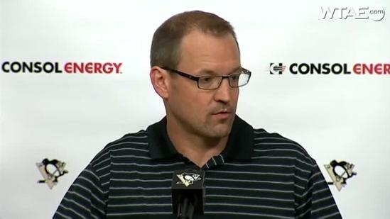 Dan Bylsma discusses Penguins' abrupt exit from NHL playoffs