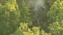 RAW: House fire in Long Grove, Ill.