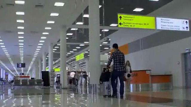 Russia airport travelers search for Snowden