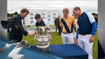United Kingdom Breaking News: Prince Harry and Prince William Are Polo Playing Gentlemen