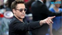 Robert Downey Jr. Rented An Airplane Hangar For His 50th Birthday