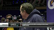 What is New England Patriots head coach Bill Belichick's favorite stuffed animal?