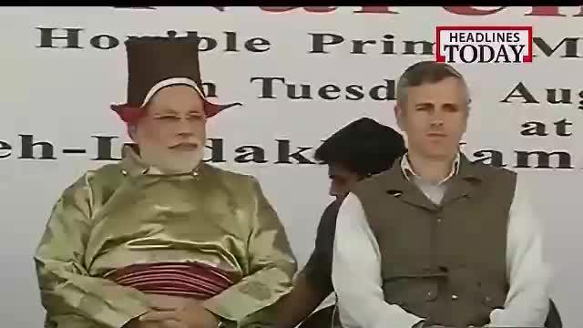 PM Narendra Modi arrives in Ladakh