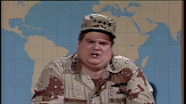 Chris Farley As Norman Schwarzkopf