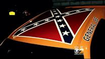 CBS2 Exclusive: NYPD Officer Told To Move Car With Confederate Flag