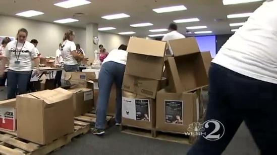 Disney donates school supplies to local districts
