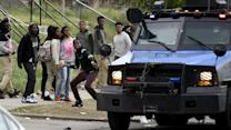 Baltimore Streets Erupt in Violence