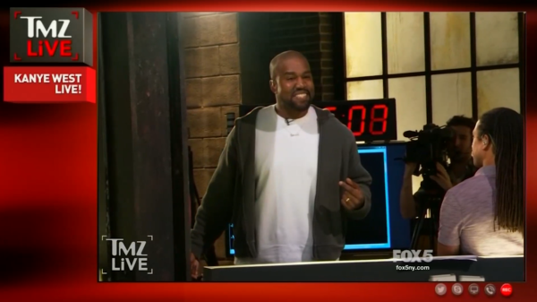 0ea6030c3 Kanye West says slavery  sounds like a choice  during incoherent rant on TMZ