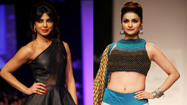 Shraddha Priyanka And Prachi Walk The Ramp At LFW Day 6
