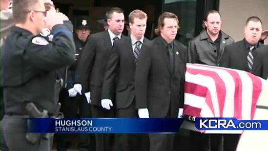 Oakdale officer laid to rest