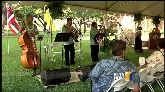 Loved ones honor late Daniel K. Inouye at Honolulu Hale