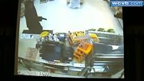 Clerk fights off robbers with baseball bat