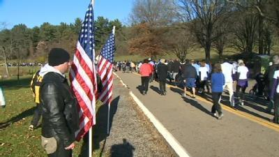 Run For The Wounded Warrior Held In North Park