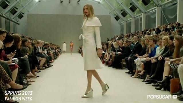 Christopher Bailey Serves Up Technicolor Trench Coats For Burberry Spring '13