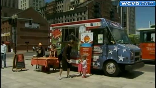 Food fight building in Boston over food trucks