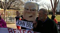 Code Pink protests John Brennan nomination
