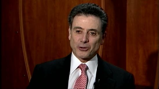 One-on-one with Rick Pitino