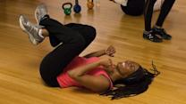 Girl vs. Sweat - Franchesca Ramsey Reacts to Kettlebell Kickboxing