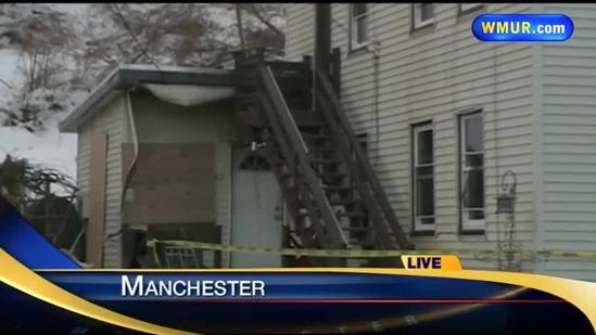 Manchester firefighters rescue man from early-morning fire