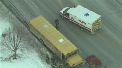 Ambulance Called To School Bus Accident