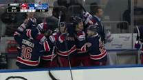 Chris Kreider ties it up late on Brodeur