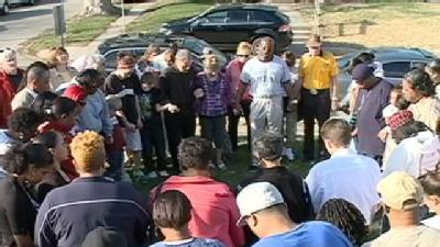 Family Holds Vigil For Omaha Shooting Victim
