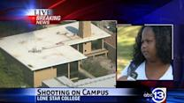 Witness: Officers warned us of campus shooter