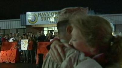 Local Marines Return Home After 7 Month Wait