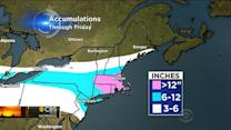 Snow: Where it's headed and how much to expect
