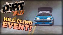 DiRT Rally - Hill Climb Event Gameplay