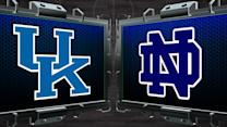 NCAA Tournament Preview: Kentucky vs. Notre Dame